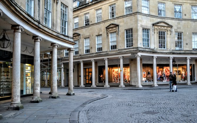 Bath 1 - Bath - pe urmele romanilor în Marea Britanie
