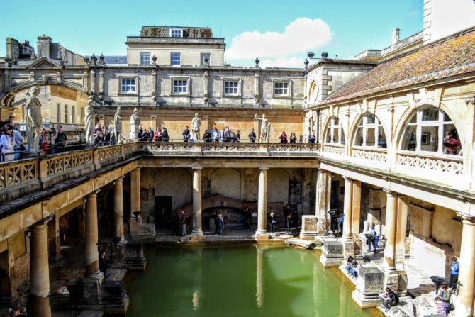 Bath Baile Romane - Bath - pe urmele romanilor în Marea Britanie