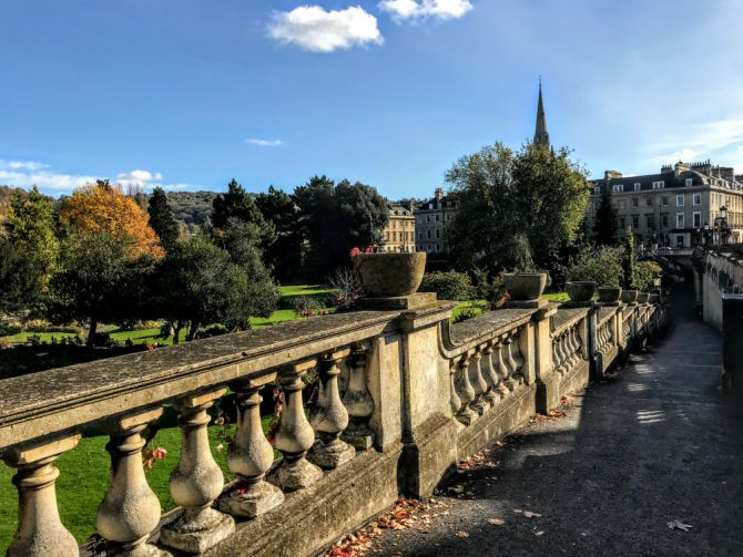 Parade Gardens Bath - Bath - pe urmele romanilor în Marea Britanie