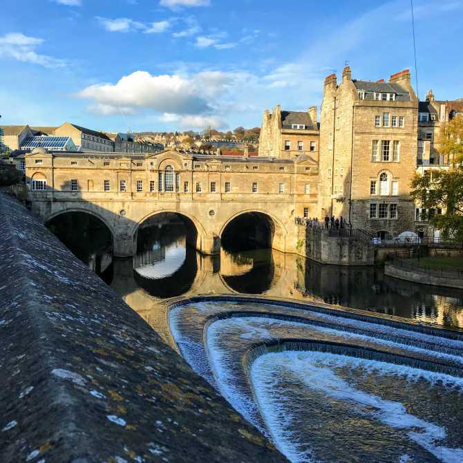 Podul Pulteney 2 - Bath - pe urmele romanilor în Marea Britanie