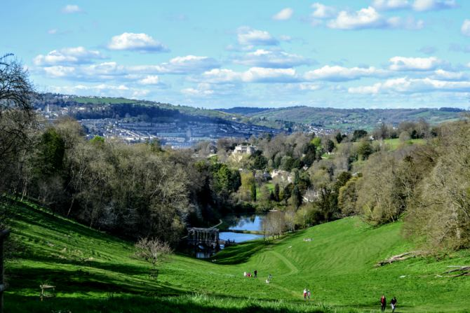 Prior Park Lanscape Gardens Bath 1 - Bath - pe urmele romanilor în Marea Britanie