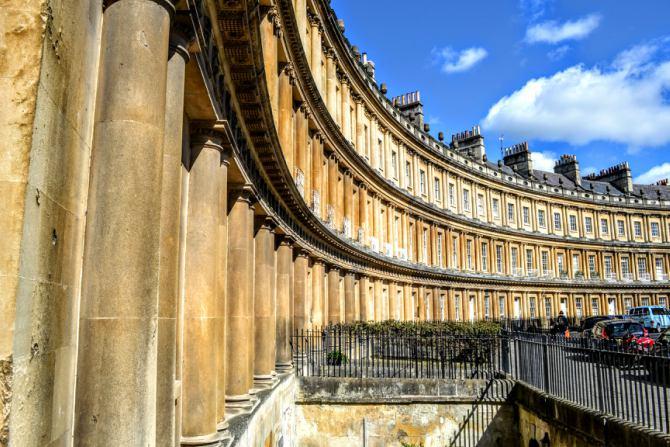 The Circus Bath 1 - Bath - pe urmele romanilor în Marea Britanie