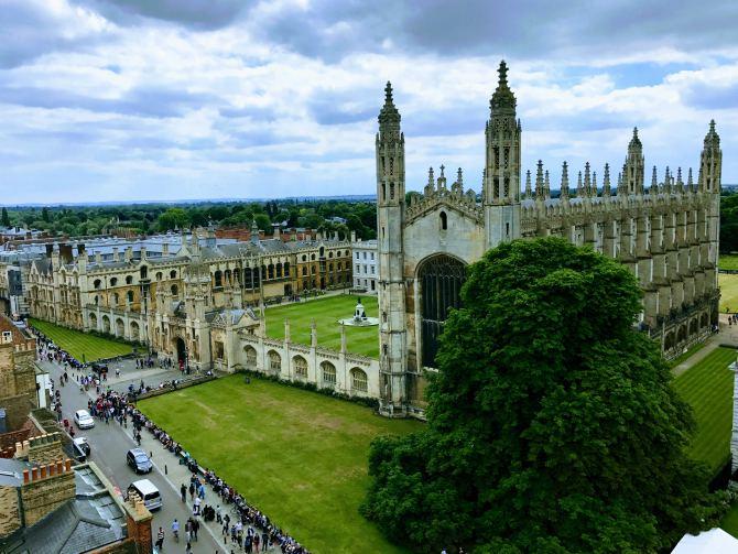 Cambridge - Călătoriile anului 2017