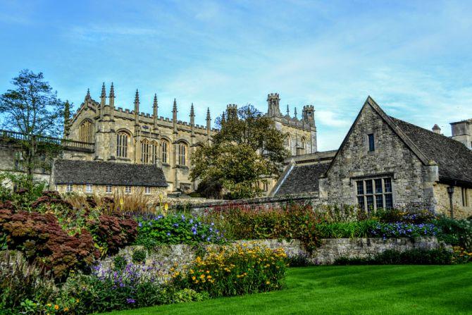 Christ Church College 1 - Oxford-oraşul celei mai vechi universităţi din Marea Britanie