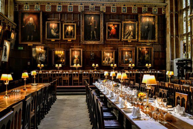 Great Hall - Oxford-oraşul celei mai vechi universităţi din Marea Britanie