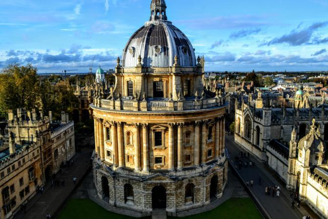 Radcliffe Camera - Oxford-oraşul celei mai vechi universităţi din Marea Britanie