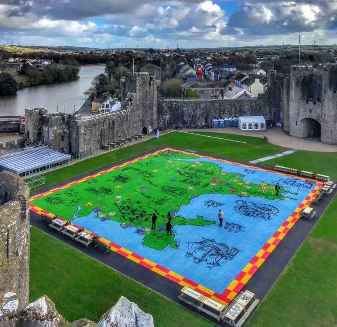 Castelul Pembroke 1 - Destinaţie de vacanţă - Ţara Galilor