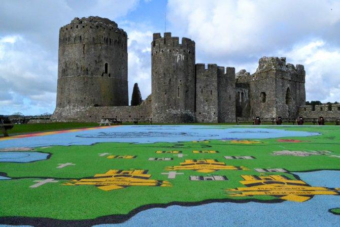 Castelul Pembroke 3 - Destinaţie de vacanţă - Ţara Galilor