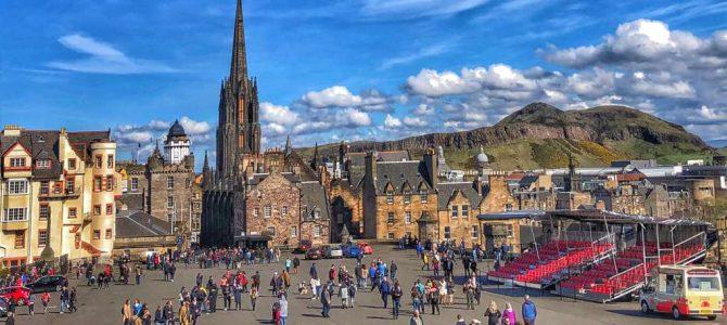 Edinburgh – prima călătorie în Scoţia