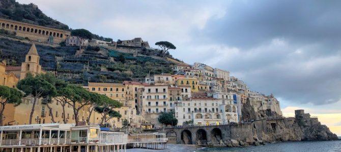 Coasta Amalfi – paradis cu mireasmă de lămâie