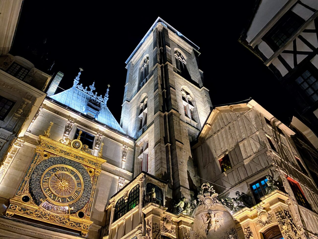 Rouen – bijuteria Normandiei